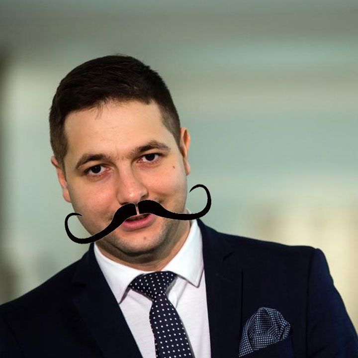 Patryk Jaki na Prezydenta Warszawy - Patricio Que