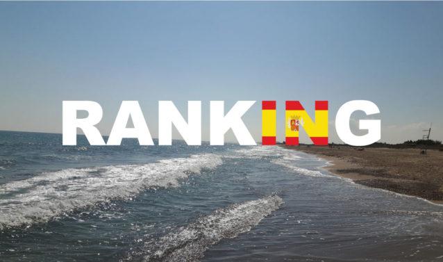 Plaże w Walencji - Ranking