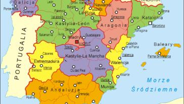 Katalonia - wspólnoty autonomiczne Hiszpanii