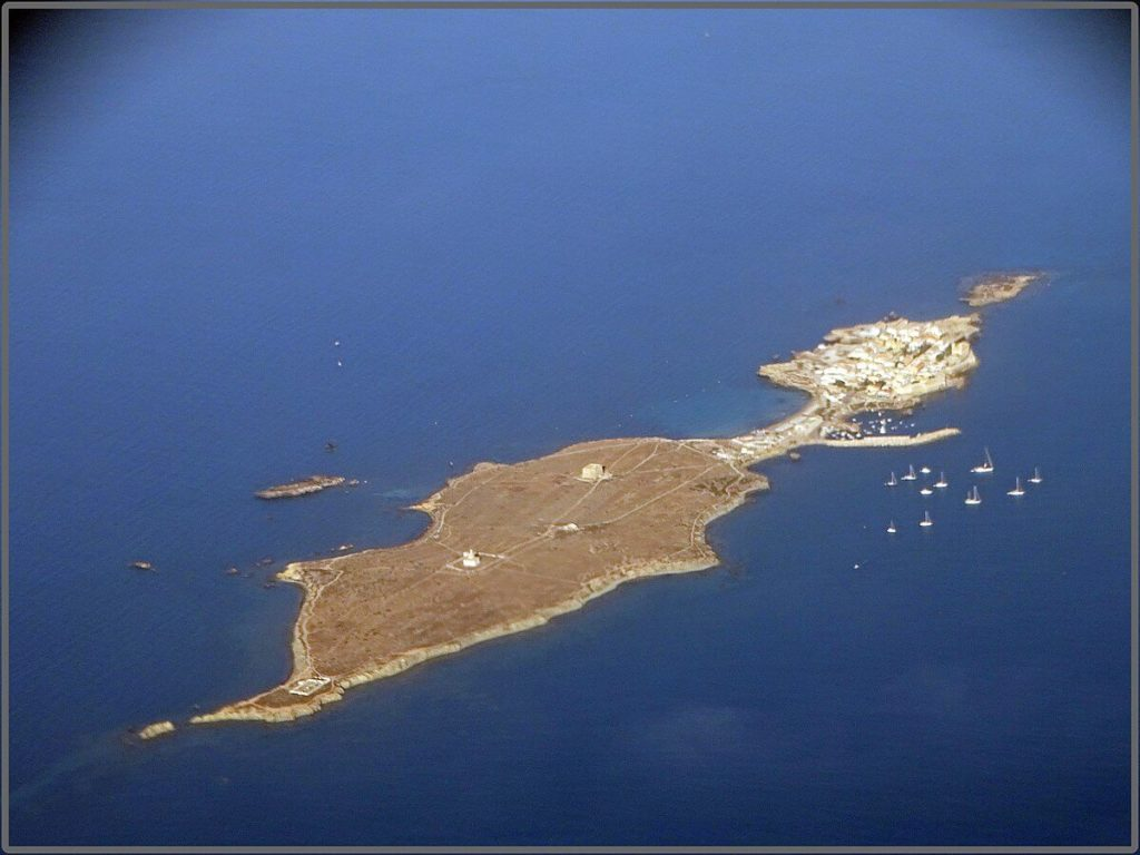 Costa Blanca - wyspa Tabarka