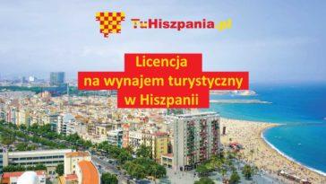 Licencja na wynajem turystyczny w Hiszpanii Costa Blanca regiona Walencji